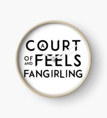 A Court of Feels and Fangirling - ACOWAR - ACOMAF Clock