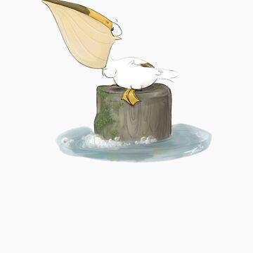 Happy Pelican by usmcbride