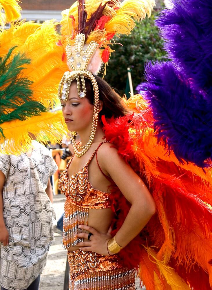 Latin Dancer. by Durlabh  Singh