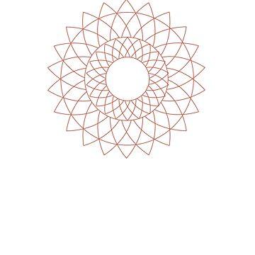 Iris, Sacred Geometry by goldenlotus