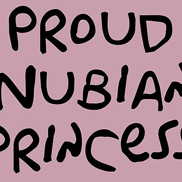Proud Nubian Princess by ssddesigns