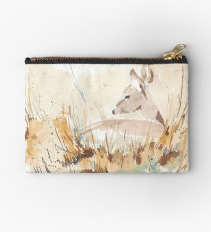 Survival in the African Bush Zipper Pouch