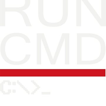 Run CMD Computer Programmer Logo by hadimo
