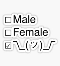 Non-Binary gender Sticker