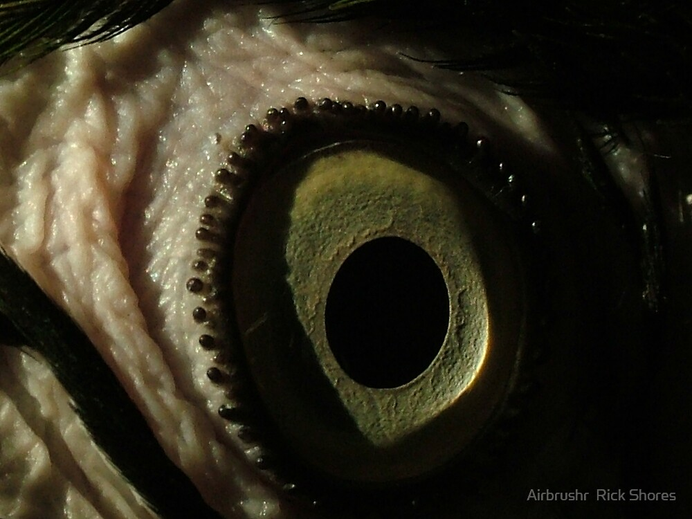 eyeball by Airbrushr  Rick Shores