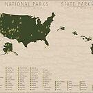 US National Parks - Hawaii by FinlayMcNevin