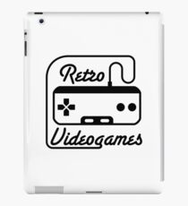 retro videogames iPad Case/Skin
