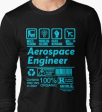 AEROSPACE ENGINEER LATEST DESIGN|FIND MORE HERE: https://goo.gl/e5J1NK Long Sleeve T-Shirt