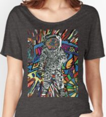 Chameleon Space Man Women's Relaxed Fit T-Shirt