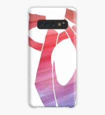 Watercolor Ballet Pointe Dance Shoes Case/Skin for Samsung Galaxy