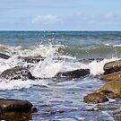 Breaking Wave2 by Margaret Stevens