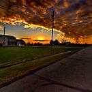 Ohio Dusk by Peter Bellamy