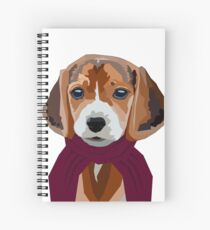 Spotted dog Spiral Notebook