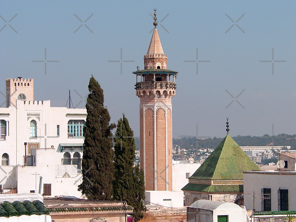 Hammouda Pacha Minaret by Tom Gomez