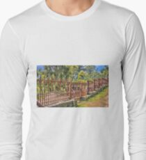 Gateway to the Eltham Cemetery Long Sleeve T-Shirt