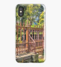 Gateway to the Eltham Cemetery iPhone Case