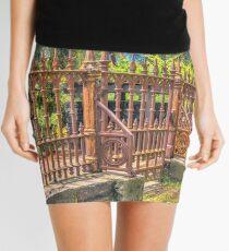 Gateway to the Eltham Cemetery Mini Skirt