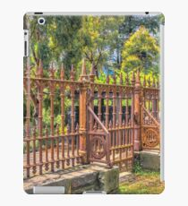 Gateway to the Eltham Cemetery iPad Case/Skin