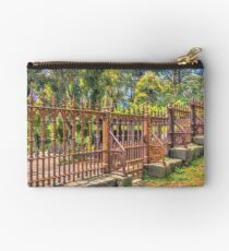 Gateway to the Eltham Cemetery Studio Pouch