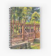 Gateway to the Eltham Cemetery Spiral Notebook