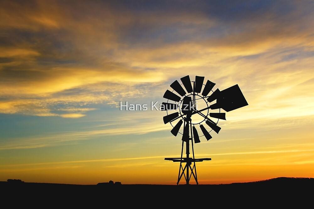 0005 Windless sunset by Hans Kawitzki