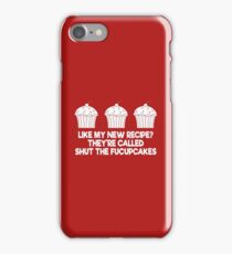 Baking cup cakes iPhone Case/Skin