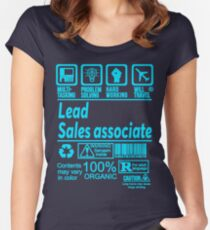 LEAD SALES ASSOCIATE LATEST DESIGN|FIND MORE HERE: https://goo.gl/gwfPHn Women's Fitted Scoop T-Shirt