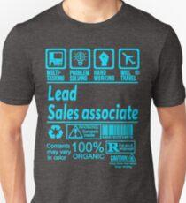 LEAD SALES ASSOCIATE LATEST DESIGN|FIND MORE HERE: https://goo.gl/gwfPHn Unisex T-Shirt