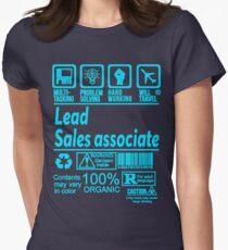 LEAD SALES ASSOCIATE LATEST DESIGN FIND MORE HERE: https://goo.gl/gwfPHn Women's Fitted T-Shirt