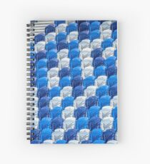 Empty Stands for Swimming Training Spiral Notebook