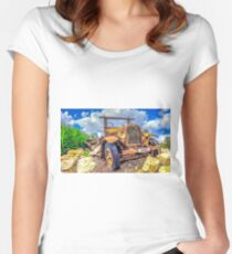 Dodge on the Rocks Women's Fitted Scoop T-Shirt