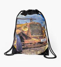 Dodge on the Rocks Drawstring Bag