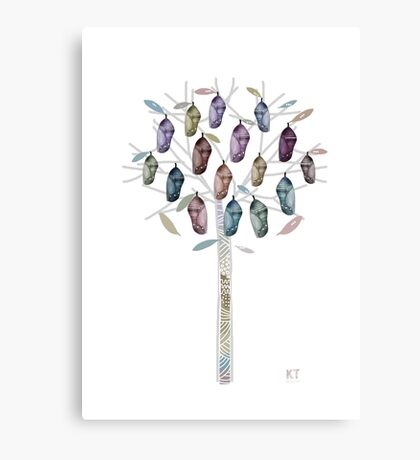 Chrysalis Tree Canvas Print