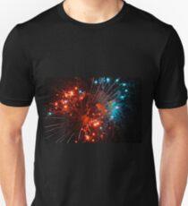 Fireworks pt.1 Unisex T-Shirt