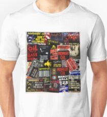 midnight oil wall 1 (best on white product) Unisex T-Shirt
