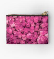 Dozens of Miniature Pink Roses Studio Pouch