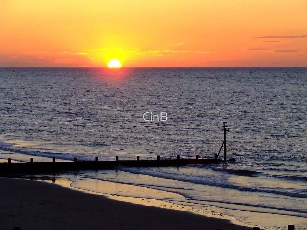Sheringham Sunset by CinB