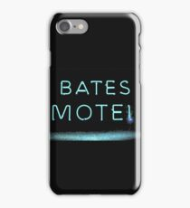 bates motel iPhone Case/Skin