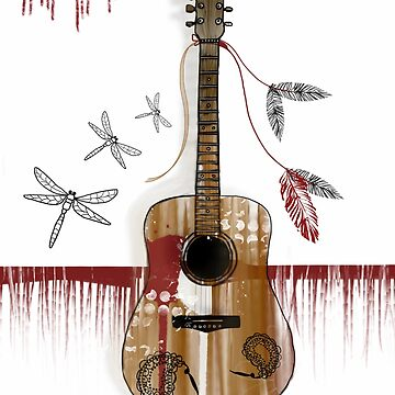 Folk Guitar by karin