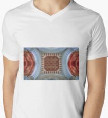 The Cathedral Ceiling Men's V-Neck T-Shirt