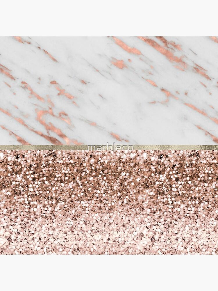 Cálido cálido - mármol de oro rosa de marbleco