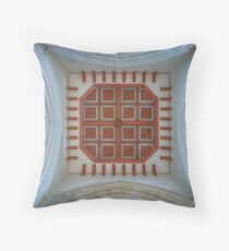 The Cathedral Ceiling Throw Pillow