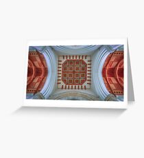 The Cathedral Ceiling Greeting Card