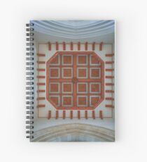 The Cathedral Ceiling Spiral Notebook