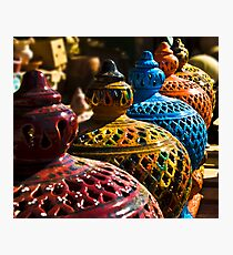 Gharyan Pottery Photographic Print