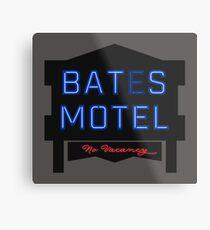 bates motel Metal Print