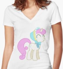 Hearth's Warming Twinkleshine Women's Fitted V-Neck T-Shirt