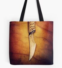 """The Slow Blade (Inspired by David Lynch's """"Dune"""") Tote Bag"""
