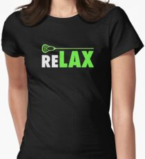 lacrosse Women's Fitted T-Shirt