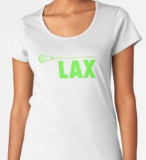 lacrosse Women's Premium T-Shirt